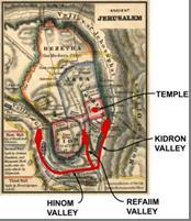 Shin on Jerusalem