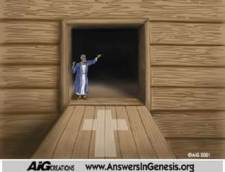 Noah's Ark - Jesus is the Door