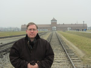 """My visit to the Nazi death camp in southern Poland led me to write """"The Auschwitz Escape."""""""