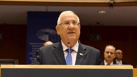 Rivlin-addressing-European-Parliament-Photo-Mark-Nieman-GPO