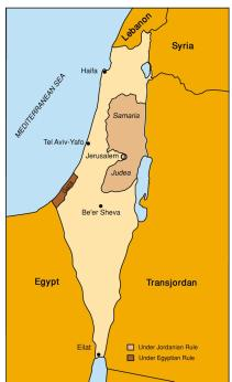 Israel - J&S Map