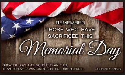 Image result for memorial day no greater love