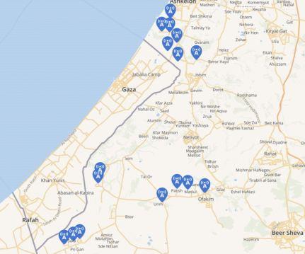 Sirens Gaza May 29