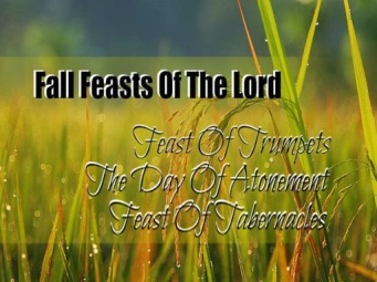 Fall Feasts of the Lord