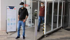Israel pilots first-ever disinfectant tunnel for public spaces ...