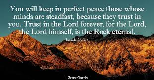 Free Isaiah 26:3-4 Perfect Peace eCard - eMail Free Personalized Scripture  Online